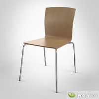 bird chair 3d obj