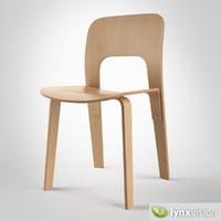 chair 2944-20 jasper morrison 3d model