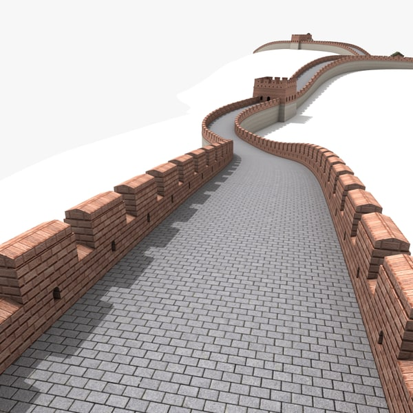 how to build great wall of china model