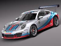 2012 2013 porsche 911 3d model