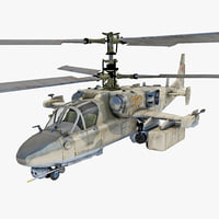 Russian Attack Helicopter Kamov KA 52 2