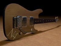 3d washburn n2 guitar