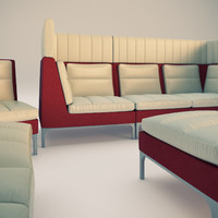 allermuir haven furniture 3d model