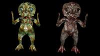 3d crustaceus creature