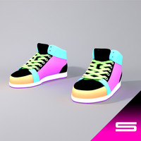 shoes sneakers 3ds