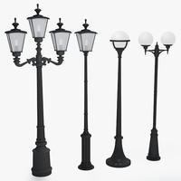 3d max street lamp