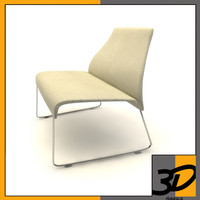 3d lazy chair