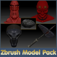 zbrush pack 3ds