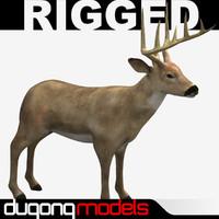dugm02 deer 3d model