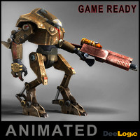 Battle Robot Animated