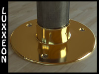 brass floor flange wood max free