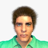 3d model realistically male thomas body