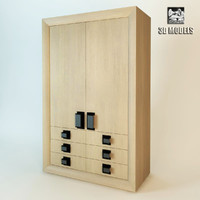 boffi wardrobe 3d model