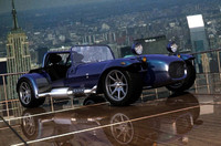 3d model caterham sports car