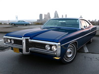 pontiac bonneville 1968 3d model