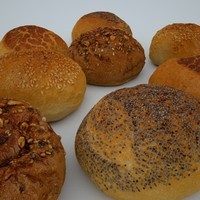 4 Bread Rolls