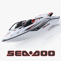 3d sea-doo speedster 200