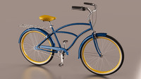 3d bicycle model