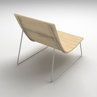 chair lounge - 3d obj