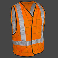 Safety Vest Construction Reflective PPE