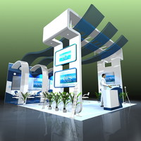 presentation designed exhibitions expo 3d model