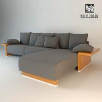 giorgetti sofa 3d model