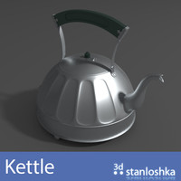 kettle pot obj