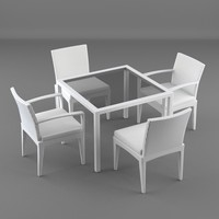 lounge furniture chairs table 3d max