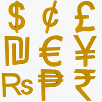 Monetary Symbols Collection