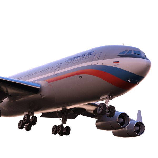 3d Ilyushin Il 96 300 Model