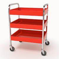 3d tool trolley model