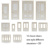 3ds max door v-ray classic