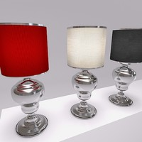 3d model of moooi kaipo lamp