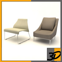 3ds max jean chair