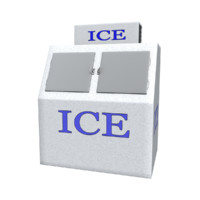 ice vending machine 3d model