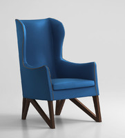 3d giorgetti mobius chair