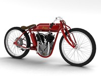 3ds max indian boardtrack racer 1920