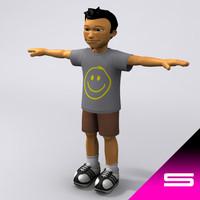 3dsmax little boy