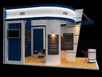 3d model stall design