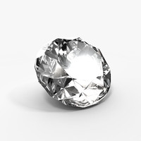 diamond materials animation 3d model
