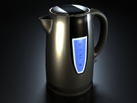 electric kettle 3d max