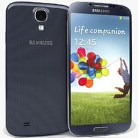 3d model of samsung galaxy s4 i9500