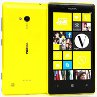 nokia lumia 720 yellow 3d ma