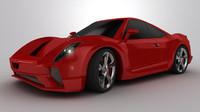 f14 concept car 3d model