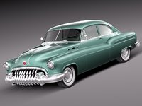 classic antique buick 1950 3ds