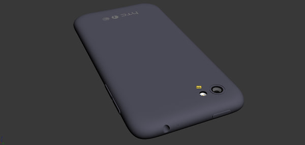 3d model htc facebook phone - HTC first... by MartinUtrecht