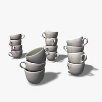 3ds max teacups chipped broken