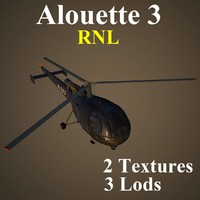 alouette rnl helicopter max