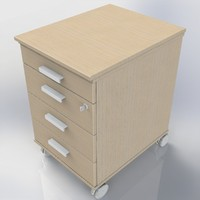 3d model of cupboard office