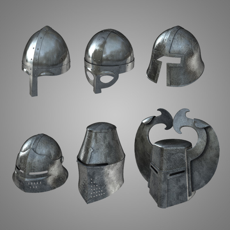 Medieval Helmets Collection.jpg
